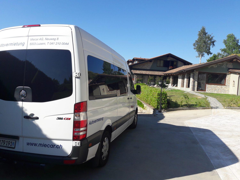 Kleinbusreise ins Piemont
